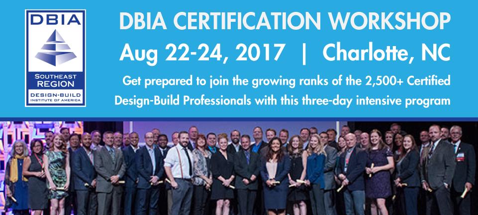 dbia certification workshop